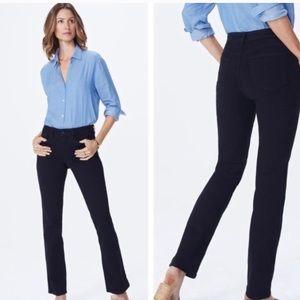 Nydj Barbara bootcut black lift tuck jeans